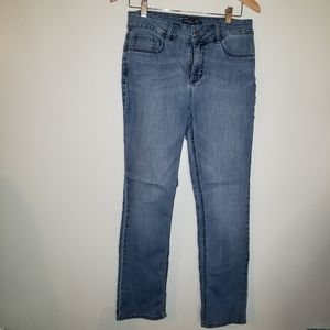 Riders by lee mid rise straight leg jeans size 10